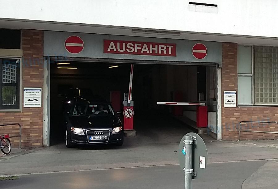 Parkhaus Römer Frankfurt
