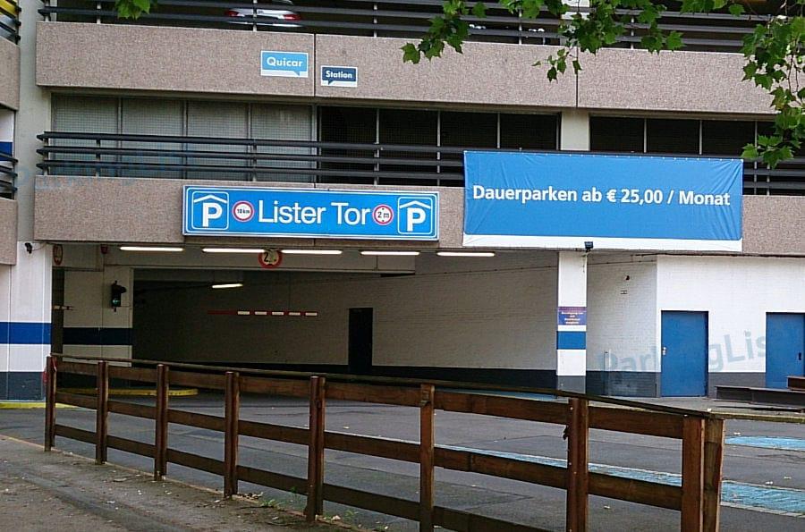 Hannover Parkhaus Hauptbahnhof