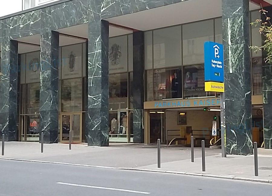 Parkhaus Junghofstraße Frankfurt