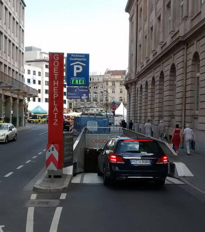 Parken In Frankfurt City
