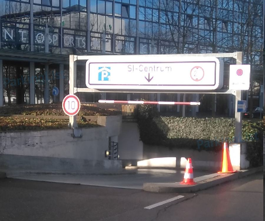 Parken Si Centrum Stuttgart