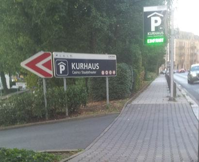 Contipark Tiefgarage Kurhaus Wiesbaden