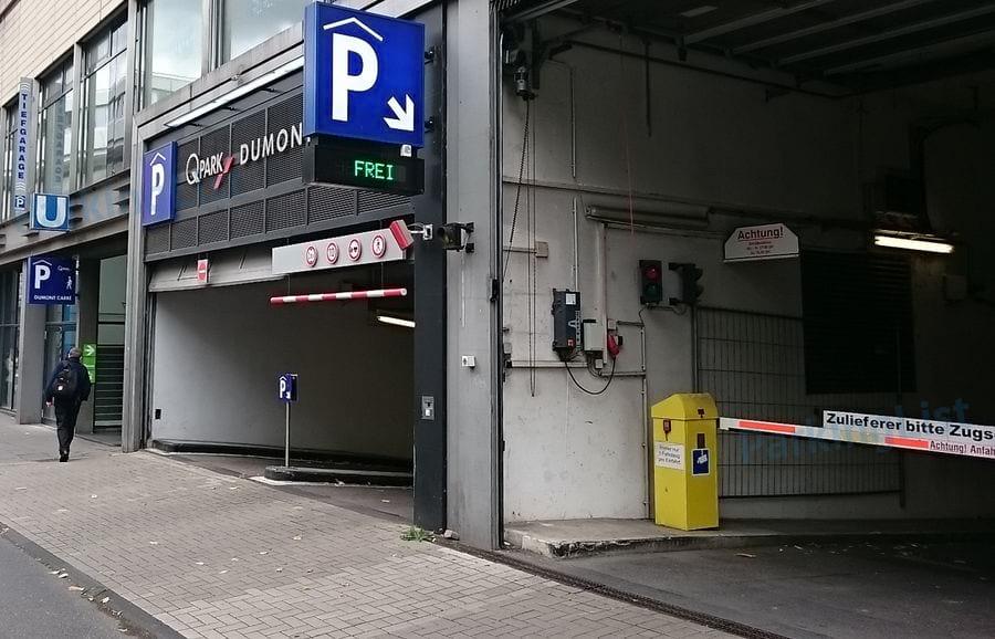 Parkhaus Maastrichter Straße Köln