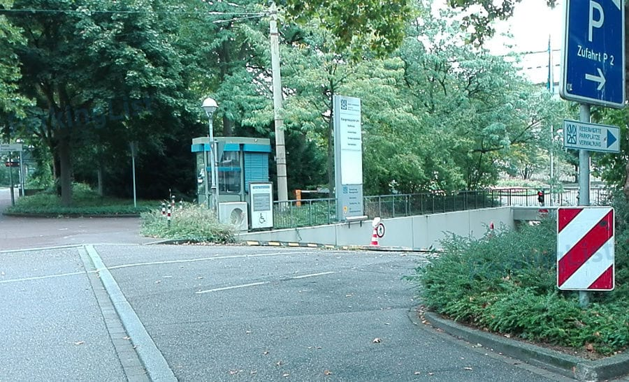 Karlsruhe Parkplatz