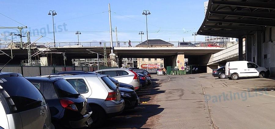Parken Bahnhof Mainz