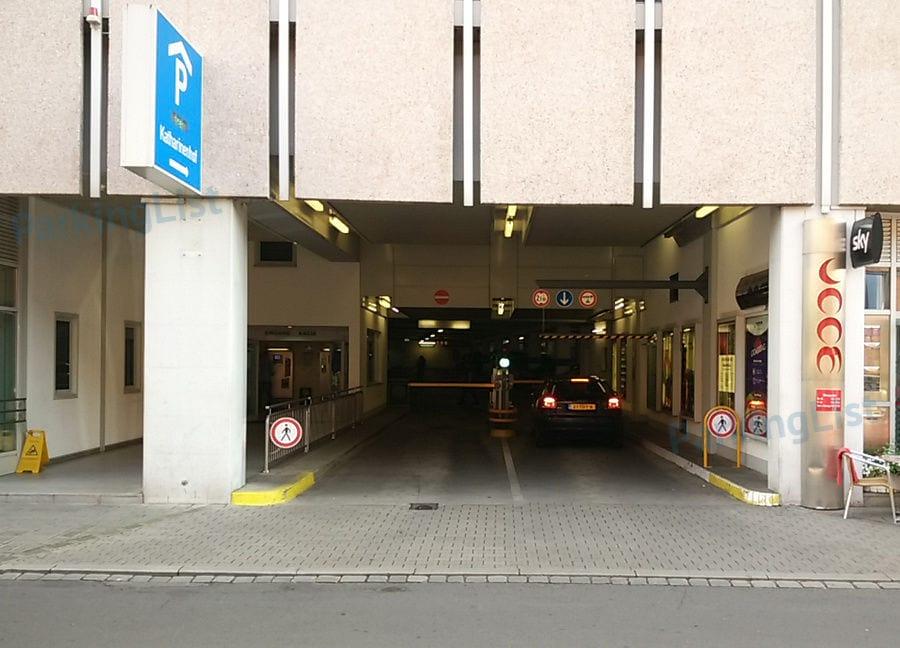 Parkhaus Nürnberg Bahnhof