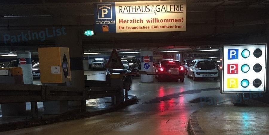 Parkhaus Rathaus Galerie Wuppertal Parken In Wuppertal