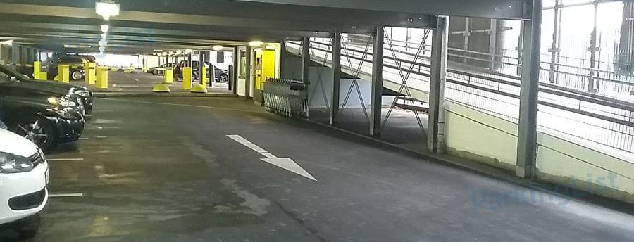 Parken Bahnhof Hannover
