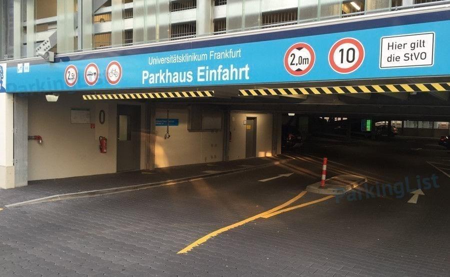 Parkplatz Frankfurt Hauptbahnhof