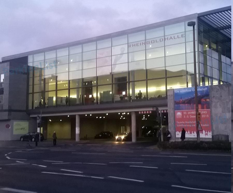 Rheingoldhalle Mainz Parken