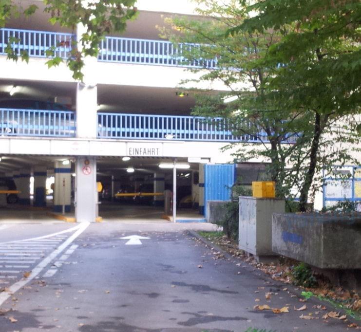 Parkhaus Stuttgart Hauptbahnhof