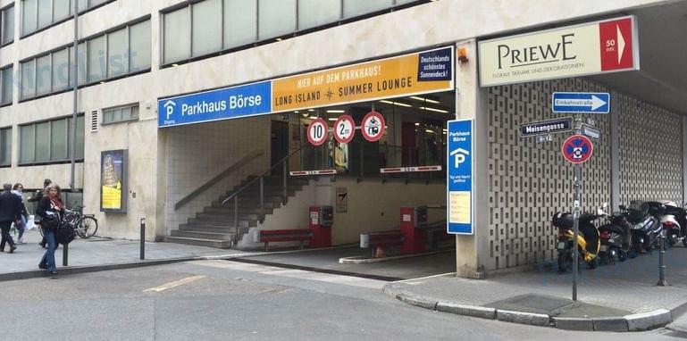 Parkhaus Börse Frankfurt