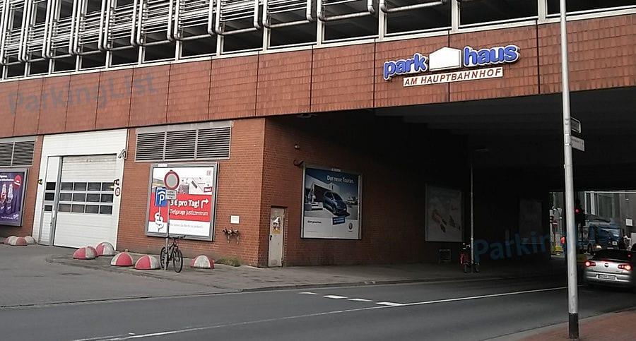 Parken Hbf Hannover