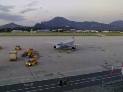 Parken Flughafen Salzburg