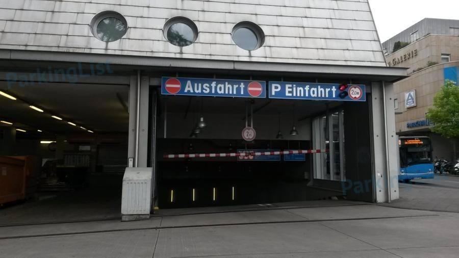 Parkhaus Vaterland Kassel