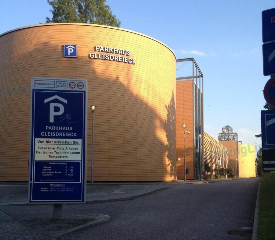 Parkplatz Gleisdreieck