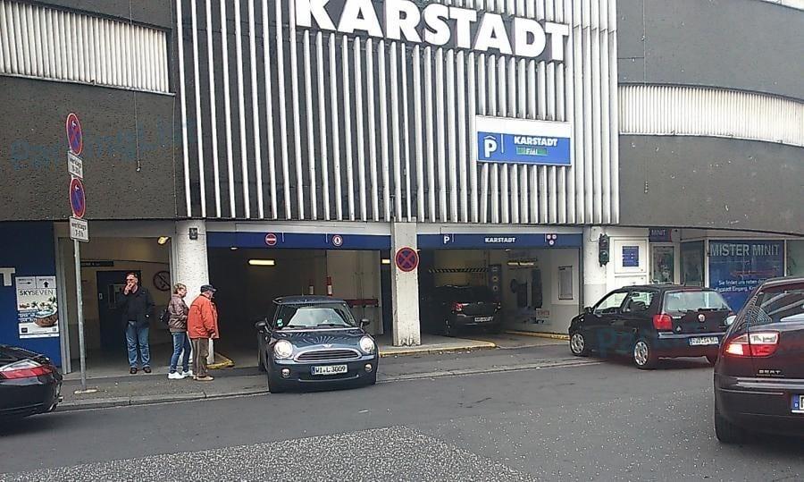 Karstadt Parkhaus Wiesbaden
