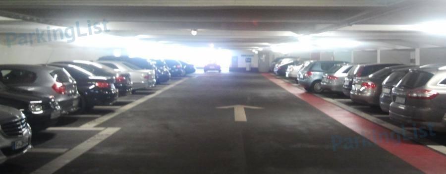Parkplatz Zeil Frankfurt