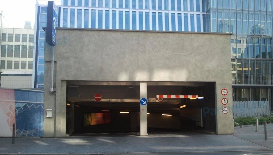 Frankfurt Parkhaus Zeil