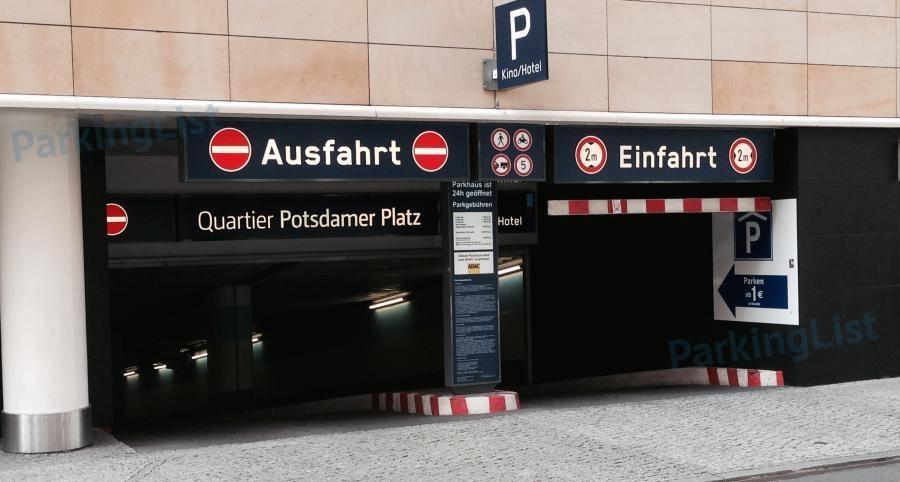 Potsdamer Platz Parkhaus